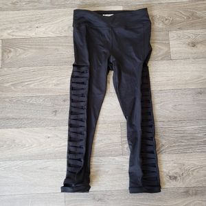 Forever 21 Vented Cut out Crop Legging